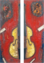 Tribute to Mingus   (Diptych)